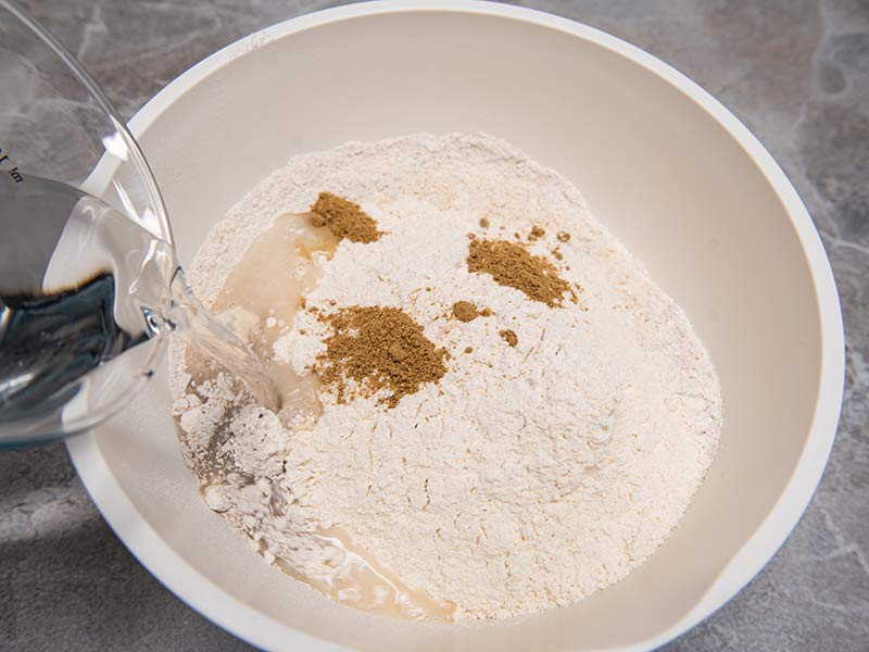 Roggenmischbrot Zubereitung