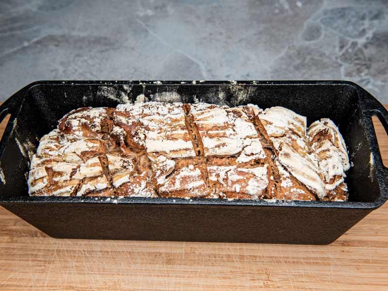 Brot im PEtromax K4